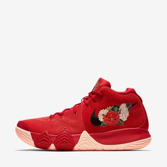 official photos 1b7b5 006e8 Nike Kyrie 4 Chinese red limited sneaker NWT